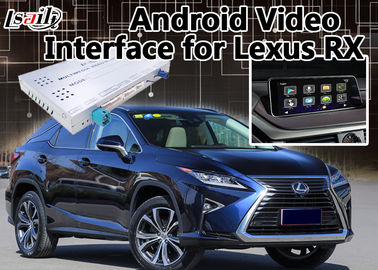 RX 2012-2017 Android 6.0 Car Gps navigation video interface Automotive On Line Map